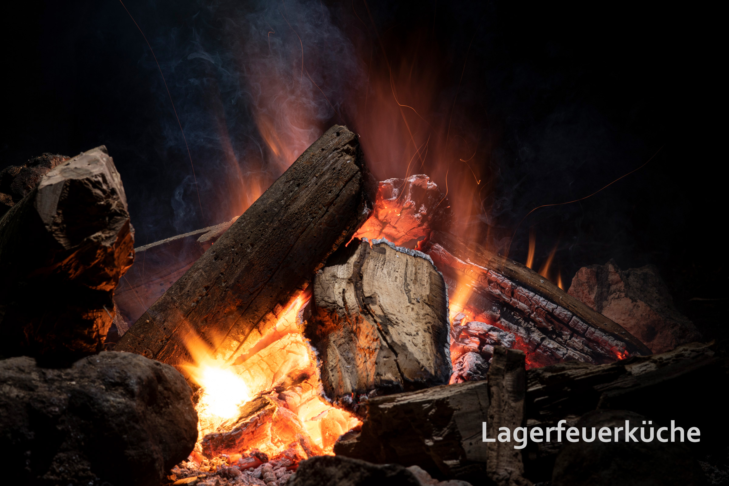Lagerfeuerküche